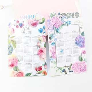 Domikee original creative cartoon 2019 calendar index divider for 6 rings binder diary planner spi