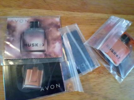 5 Avon Mens Fragrance Samples: New (#1)