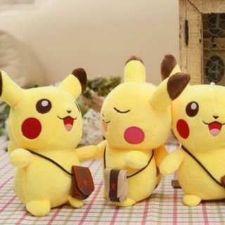 Cute Pokemon Pikachu Figures Soft Stuffed Plush Doll Kids Children Baby Toy