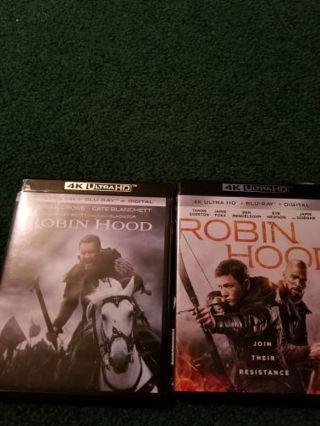 2 Robin hood 4ks