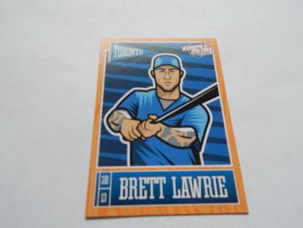 TRIPLE  PLAY BRETT LAWRIE CARD 2013