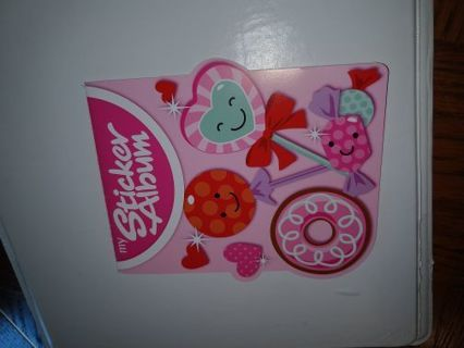 Sticker album for saving stickers