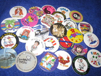 Free: Awesome Original old school POGS big mix lot - Other