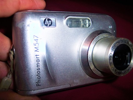 HP PHOTOSMART M 547 6.2 mp DIGITAL CAMERA