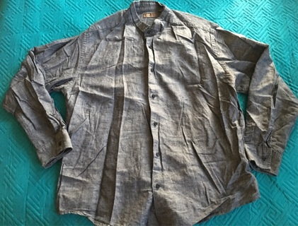 Cafe Luna Button Up Size XL 46/48