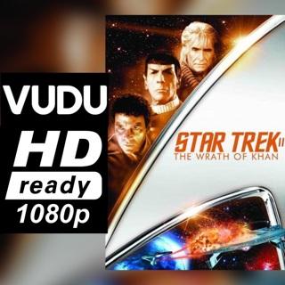 STAR TREK 2: THE WRATH OF KHAN HD VUDU CODE ONLY