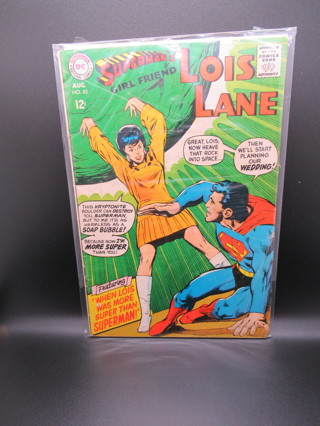 SUPERMAN'S GIRLFRIEND LOIS LANE NO.85