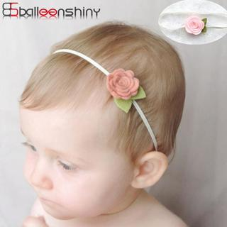 BalleenShiny Rose Flower Hair Bands Newborn Baby Elastic Photography Props Headband Lovely Headwea