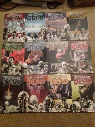 Free The Walking Dead Graphic Novel Collection 12 Books Other Books Listia Com Auctions For Free Stuff