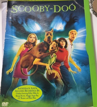 Scooby Doo Used DVD