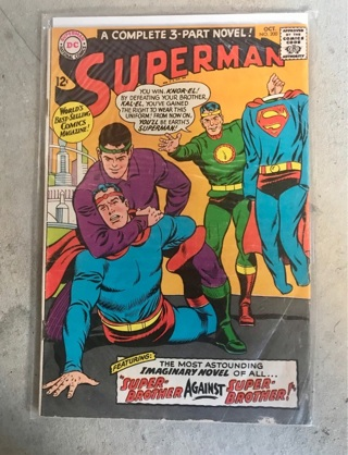 Superman #200 12cent Cover Silver Age