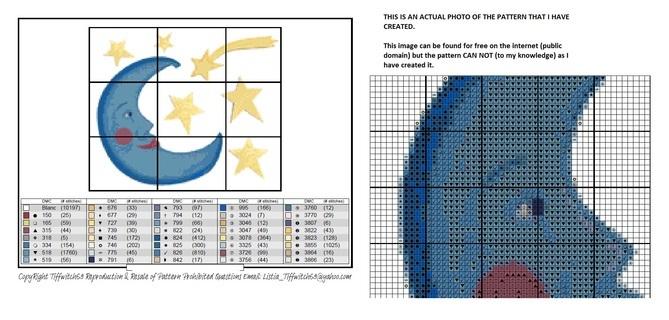 Blue Moon Cross Stitch Patterns ***Winners Choice***