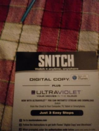 Snitch VUDU Code