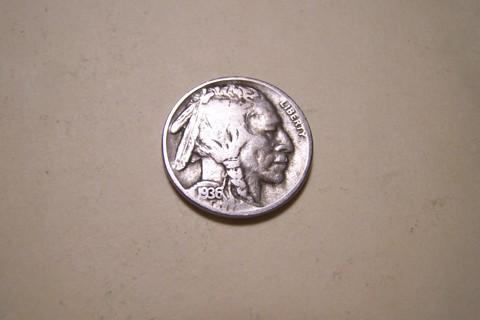 Nice 1936-D Buffalo Nickel