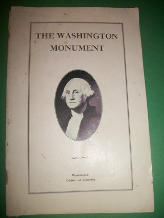 The Washington Monument Guide Booklet - 1932