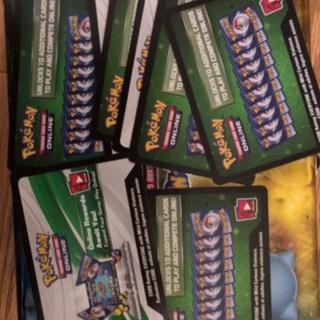 10 Pokémon trading card game online codes