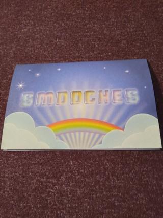 Pop-Up Notecard - SMOOCHES