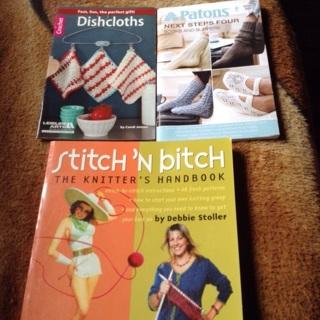 Misc crochet and knitting books