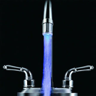 Color Faucets Changing Sale Basin Stream Temperature Top Tap LED Water Light