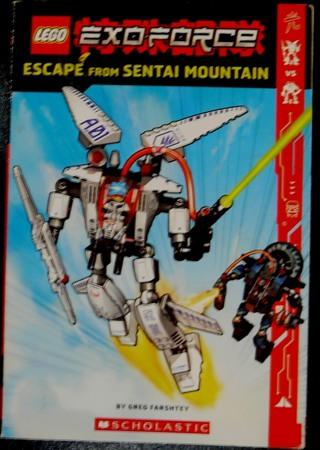"""Lego's ExoForce, escape from Sentai Mountain"" Scholastic"