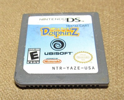 Wild Petz Dolphinz game for the Nintendo DS system