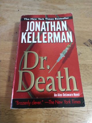 Dr. Death by Jonathan Kellerman (paperback)