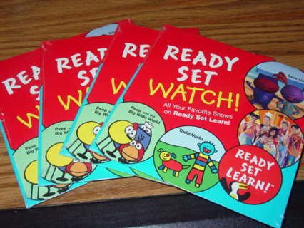 Ready set learn workbooks for toddlers