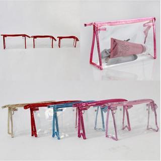 Clutch Bags Transparent Waterproof Cosmetic Bags Toiletry