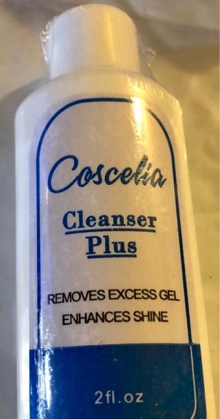"Brand New: 2.0 Fl oz. ""Cascelia Cleanser Plus"" Cleaner For Nails. Removes Excess Gel. Enhances Shine"