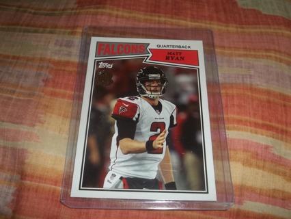 ^*^*  Matt Ryan  , football card  *^*^