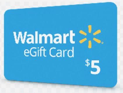 Wal-mart Gift Card Code*Read Description