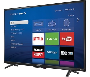 "NEW,! Insignia 39"" Class (38.5"" Diag.)  LED 1080p Smart HDTV Roku TV! FREE SHIP!"