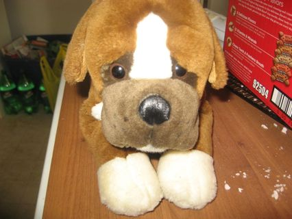 Brown Boxer Puppy Dog Plush Dolls