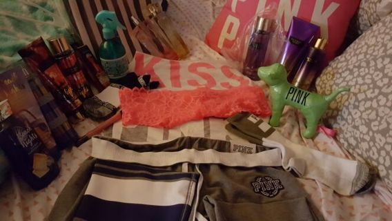 VICTORIA SECRET, PINK, BATH AND BODY WORKS. AND MORE!!!!