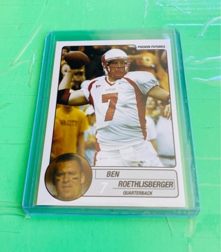 2004 Pigskin Ben Roethlisberger Rookie Card