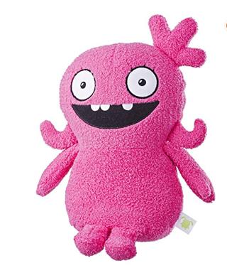 "⭐️⭐️⭐️⭐️Hasbro Uglydolls Feature Sounds Moxy, Plush Toy That Talks, 11.5"" Tall"