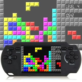 Classic nostalgia Gaming Tetris Portable Handheld Game Console Children's classic Game hand-held