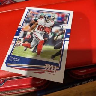 2020 donruss Darius slayton football card