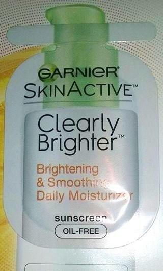 Garnier Skin Brightener Moisturizer SAMPLE SIZE!! + BONUS!! 1 of 2