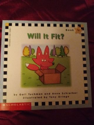 Used Children's Scholastic Book Will It Fit