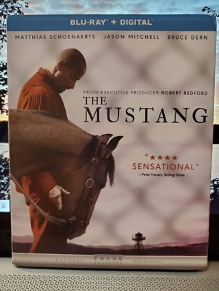 The Mustang Blu-Ray