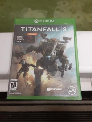 Titanfall 2 xbox one game