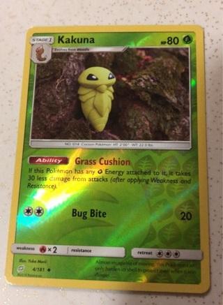 Pokémon Card Kakuna