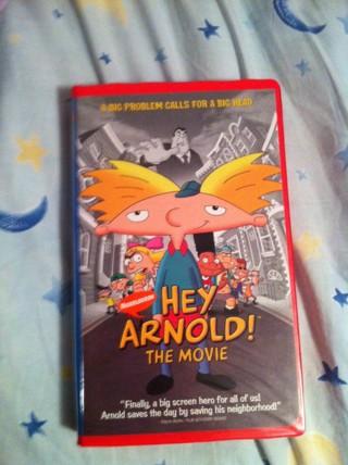 Free: Hey Arnold! The Movie VHS - VHS - Listia.com ...