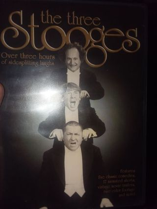 Three stooges collection very good condition