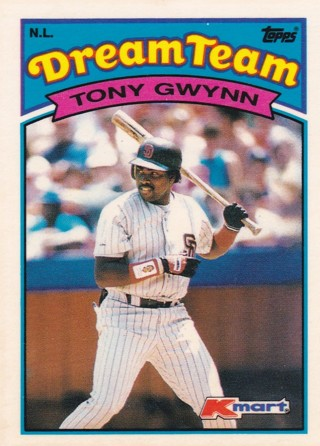 Tony Gwynn 2 Baseball Card Lot