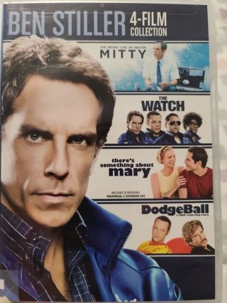 Ben Stiller 4 Film Collection