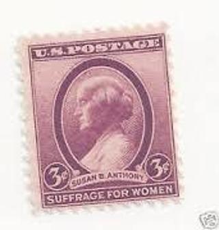 USED 1936 Susan B Anthony Stamp