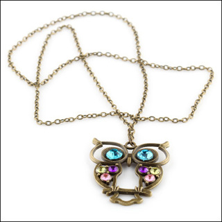Beautiful New Owl Necklace
