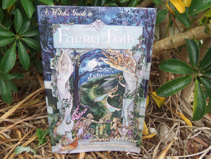 A WITCH'S GUIDE TO THE FAERY FOLK ☽✪☾ Wicca Witchcraft Spells VINTAGE Book ~ FREE SHIPPING